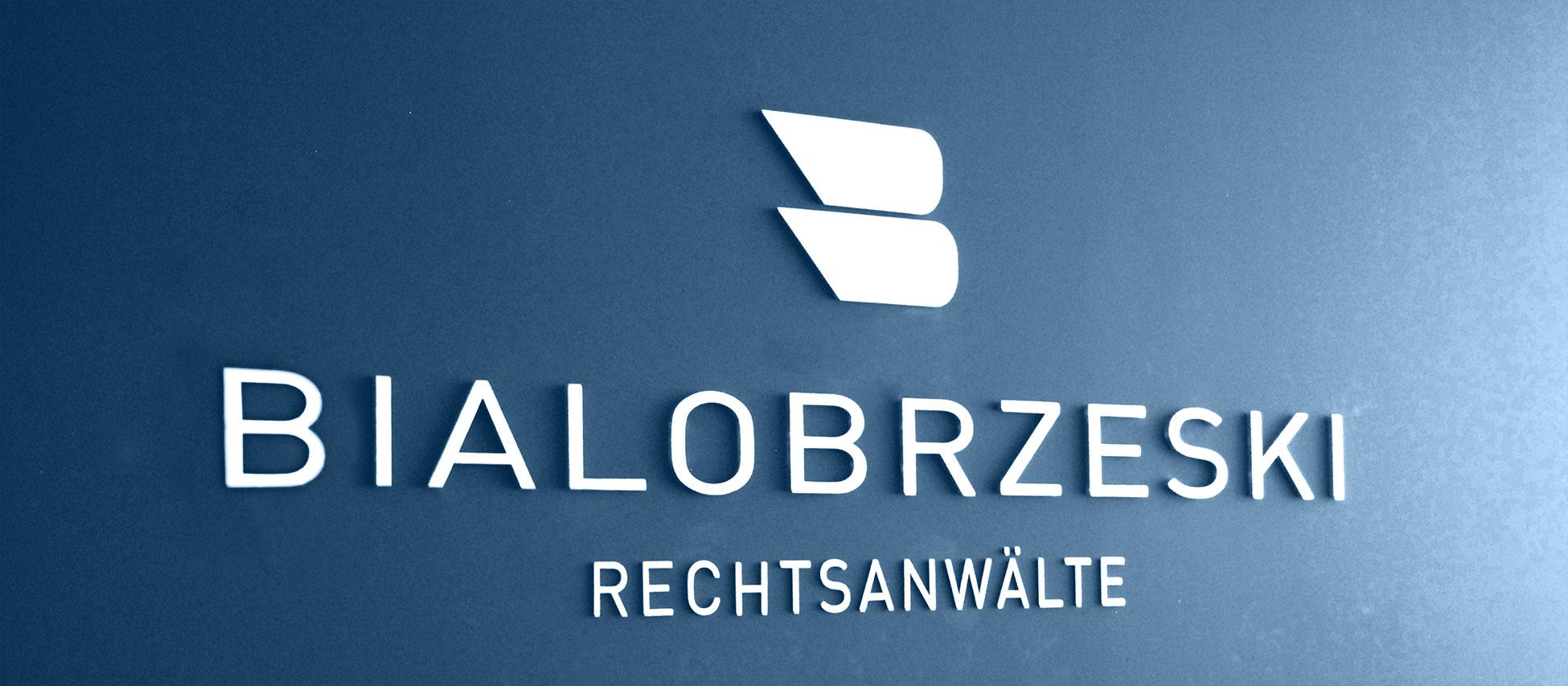 Rechtsanwalt Bialobrzeski Header